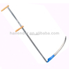 long wooden handel scythe and snath