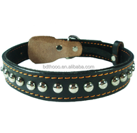 Pet accessory dog collar decorative adjustable neck strap for strong dog