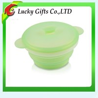 High Quality FDA Approved Silicone Microwave Safe Lunch Box