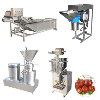 small tomato paste production line automatic
