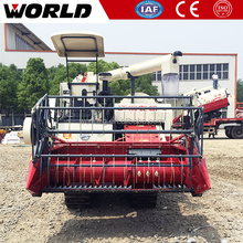 88HP Kubota Type green bean Paddy Grain Combine Harvester