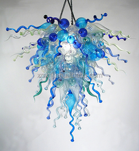 Popular hand blown art glass modern chandeliers light fixture pendant