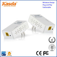 Kasda plug and play wired 200Mbps plc adapters