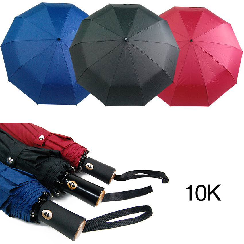 Teflon coated 210T Fabric windProof Auto Open/Close Travel umbrella