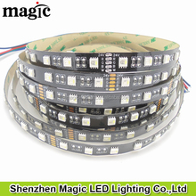 ip20 4in1 24V 60leds/m 19.2w/m Black PCB IP20 RGBW LED Tape