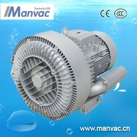 LD single or three phase industrial high pressure sewage treatment air blower regenerative blower