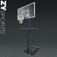 Adjustable basketball system, Outdoor&Indoor entertainment Portable basketball stand/basketball hoop
