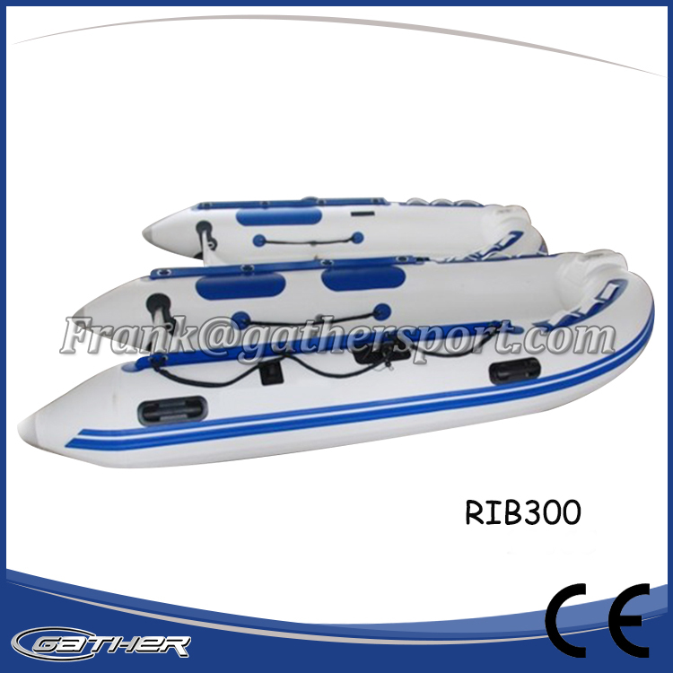 Gather CE certificate China Inflatable rib hypalon inflatable boat for sale!
