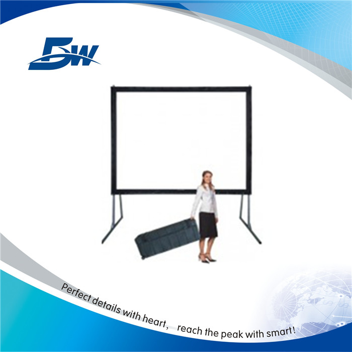 Guangzhou BW Easy Fold Projection Screen/Portable Quick Folding Screen/Fast Foldable Projector Screen