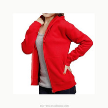 Fashion Wholesale Zip Hoodies Cheap Plain Women's Hoodies