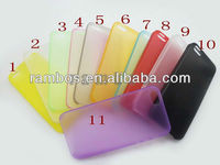 New Transparent Clear Crystal Snap-on Hard Back Case Cover Protective Skin for iPhone 5 5G
