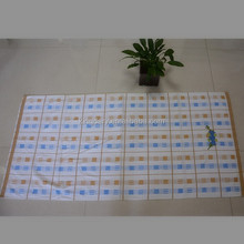 yarn dyed check embroider beach towel