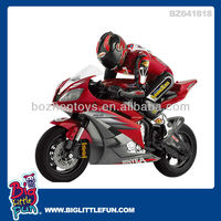 1:5 scale 3 channel remote control motorcycle( with light)