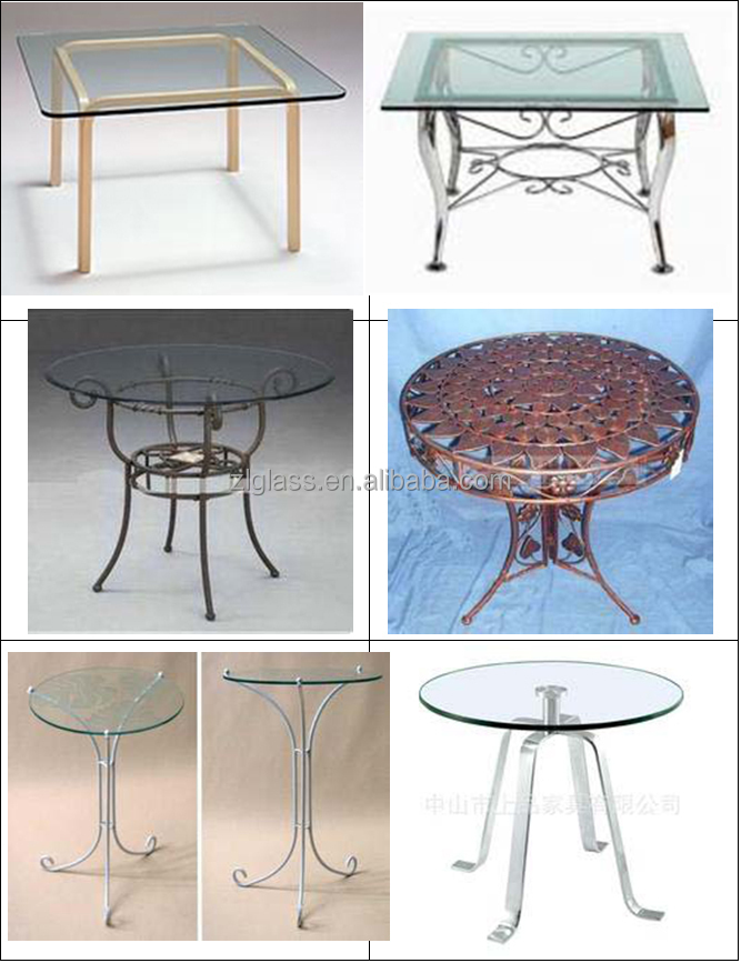 High quality wood parts furniture glass coffee table,glass cutting table