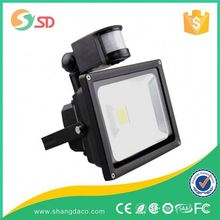 Economic unique 50w cob sensor led flood light