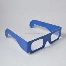 cheap cardboard linear polarized disposable eye glasses