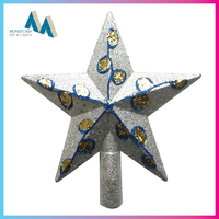 Marketing christmas star tree topper