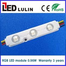 Lulin shenzhen led factory ce rohs smd 5050 rgb led module lights for advertising channel letters