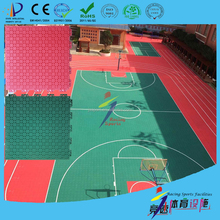 High quality and colorful free design indoor and outdoor pp plastic basketball court flooring coating