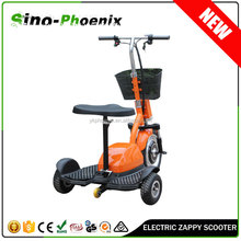 3 wheel scooter electric stand up scooter 36v 350w with seat for Adult (PN-ES20-350W )