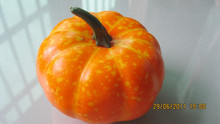 Cheap fake pumpkins fruits for home decoration