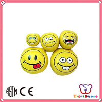 SEDEX Factory cheap promotional smile bouncing ball
