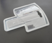 original brands supply Clear Double Blister cell Phone Clamshell case sliding Packaging