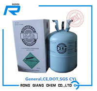 R134a Refrigerant gas. welcomed in overseas market, popular use in car air- condition.