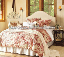Brushed Fabric Bedsheets/Adult Bed Quilts/Fashion Polyester Bedding wholesale