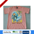 Melange little boy's T-shirt for children wear/brazilian children wear manufacturers