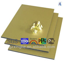 size 5mm alumetal aluminium composite panel