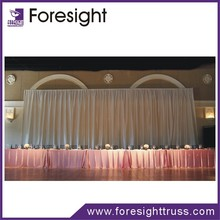 2012 new pipe and drape curtain designs for luxurious wedding