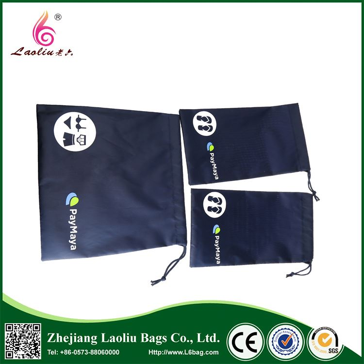 New coming OEM quality easy carry bag mini polyester drawstring bag