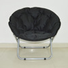 Living Room Leisure Furniture Fabric Folding Moon Chair