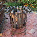 China supplier Outdoor Iron fire bbq brazier fire pit