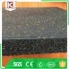 Recycled material outdoor rubber tile
