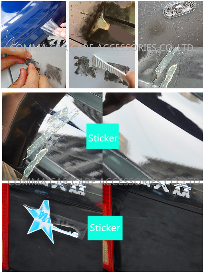Best Fast and high effect auto removable adhesive labels sticker adhesive goo glue gum removal
