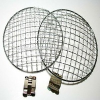 headlingts stone guard stainless steel mesh grille ,crimped wire mesh for headlights