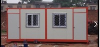 Hot Sale Container House for Ticket Booth/military container sentry box/prebuilt container houses