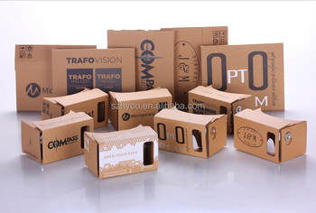 Manufacture Best Quality VR Cardboard Google with custom printing
