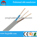 2 core Twin and Earth Flat cable,electrical wire,China Manufacture Shanghai/Ning bo