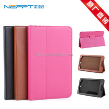 "Neppt High Quality 7 inch Lichi Tablet Protective Leather Stand Case Cover for 7"" Lenovo A3500 Quad-Core Tablet PC"