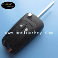 Discount Price 2 button car remote key 315Mhz with original Circuit board for Opel Key
