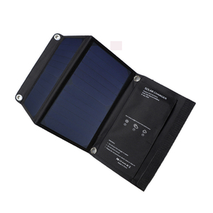 High Quality Waterproof 15W Portable Compact Solar Power Phone Charger