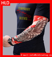 Factory Direct Sale Flaming Tiger Tattoo Design Fake Temporary Arm Sleeves