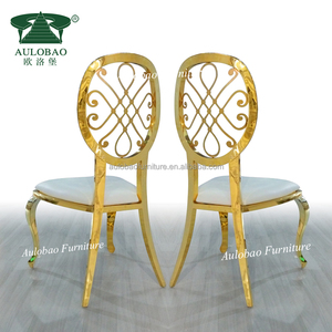 Low discount price cheap metal restaurant dining chairs