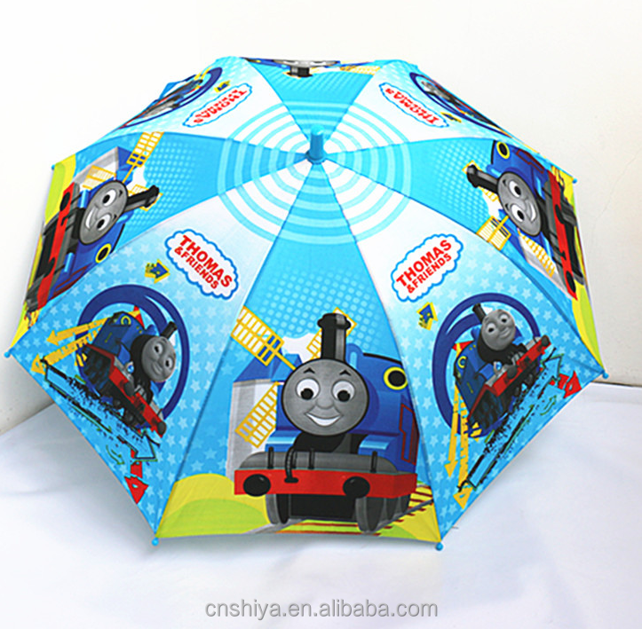 Chinese export sales of children's outdoor fashionable cartoon design sunshade umbrellas