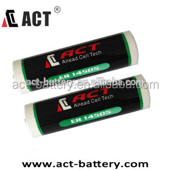 High capacity 1.5v um3/r6 aa batteries 4000mAh GR14505 lithium/alkaline battery from china factory