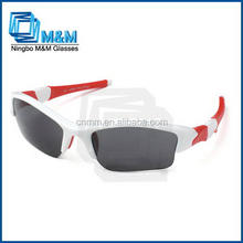 High Quality Sports Sunglasses With Half Frame Sunglasses Rubber Tips