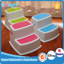 Latest Design Colorful Squatty Garden Fashionable 2 step stool plastic